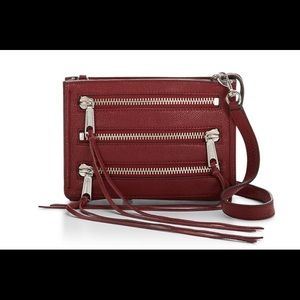 Rebecca Minkoff Moto 3 Zip Cross Body Bag